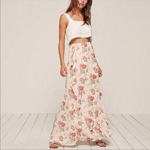 Reformation Della Veranda Maxi Skirt Medium Floral